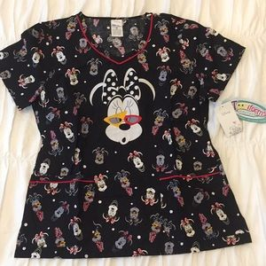 Disney Cherokee Medium Scrub Top